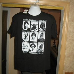 """Star Wars """"The Cool Kids"""" T Shirt   Large  NEW!!!"""